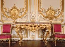 Комната в дворце Версаль Стоковые Изображения