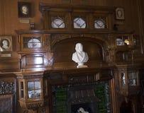Комната в замке северном Уэльсе Bodelwyddan Стоковые Фото