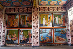 Комната в монастыре стоковые изображения