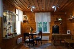 Комната в музее стоковое фото