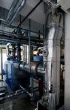 комната газа боилера стоковая фотография rf
