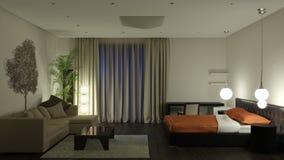 комната гостя Стоковая Фотография RF