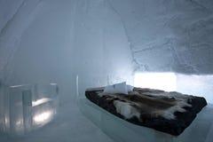 комната двадцатое icehotel варианта Стоковое фото RF
