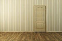 комната двери пустая новая Стоковые Фотографии RF