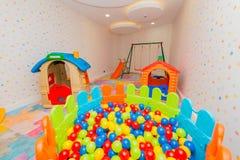 Комната детей с много забавляется Стоковое Фото