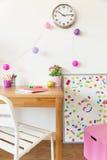 комната детей цветастая Стоковое Изображение