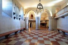 комната замока Стоковое Фото