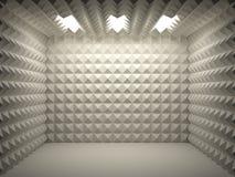 комната звукоизоляционная Стоковое фото RF