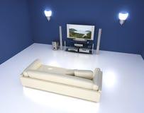 комната зрелищности Стоковые Изображения RF