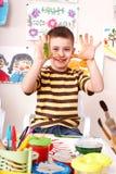 комната игры изображения ребенка щетки Стоковые Изображения RF