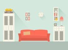 Комната 2 дизайна живущая Стоковые Фотографии RF