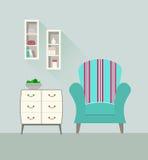Комната 4 дизайна живущая Стоковая Фотография