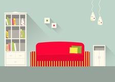 Комната 5 дизайна живущая Стоковое Фото
