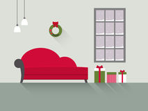 Комната 7 дизайна живущая Стоковое фото RF