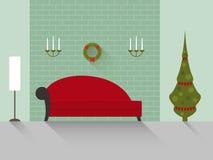 Комната 8 дизайна живущая Стоковое фото RF