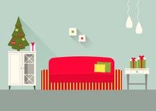 Комната 9 дизайна живущая Стоковое Изображение