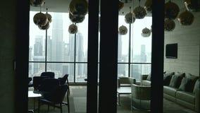 комната изображения 3d нутряная живущая видеоматериал