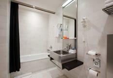 комната интерьера ванны Стоковое Изображение