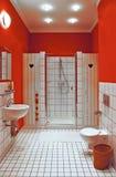 комната интерьера ванны Стоковое Изображение RF
