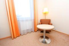 комната интерьера гостиницы Стоковая Фотография