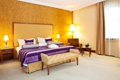 комната интерьера гостиницы Стоковые Фото