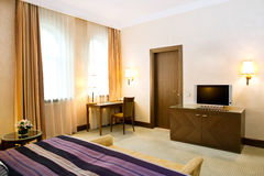 комната интерьера гостиницы Стоковая Фотография RF