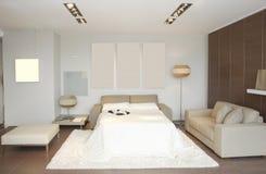 комната интерьера гостиницы стоковое изображение