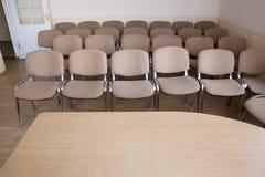 комната интерьера конференции Стоковая Фотография