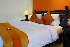 комната интерьера кровати Стоковое Фото