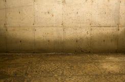 комната интерьера grunge Стоковое Изображение RF