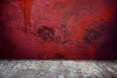 комната интерьера grunge Стоковая Фотография RF