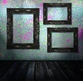 комната интерьера grunge Стоковые Фотографии RF