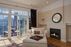 комната квартиры живущая Стоковая Фотография