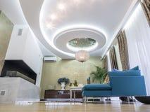 Комната квартиры живущая Стоковые Фото