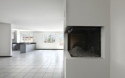 комната квартиры пустая новая Стоковое Фото