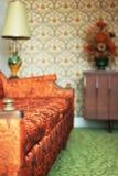 комната кич живущая Стоковое Изображение