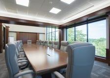 комната конференции большая Стоковое Изображение
