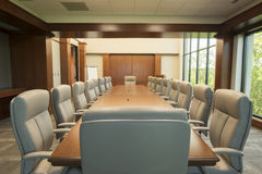 комната конференции большая Стоковые Изображения