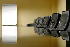 комната конференции пустая Стоковая Фотография