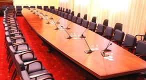 комната конференции пустая Стоковые Изображения