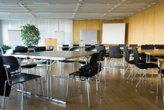 комната конференции пустая Стоковое Изображение