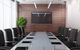 комната конференции самомоднейшая Стоковое фото RF