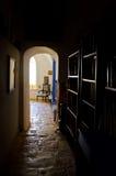 комната корридора славная к Стоковые Изображения