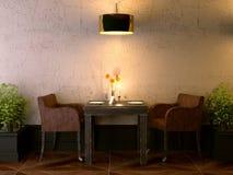 комната кофе Стоковое Изображение