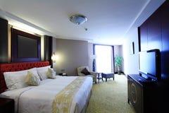 комната кровати живущая Стоковая Фотография RF