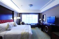 комната кровати живущая Стоковые Фото