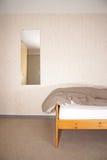 комната кровати Стоковые Изображения