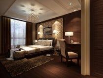 Комната кровати иллюстрация вектора