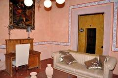 комната крупного поместья живя Стоковое Изображение RF