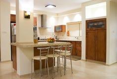 комната кухни Стоковая Фотография